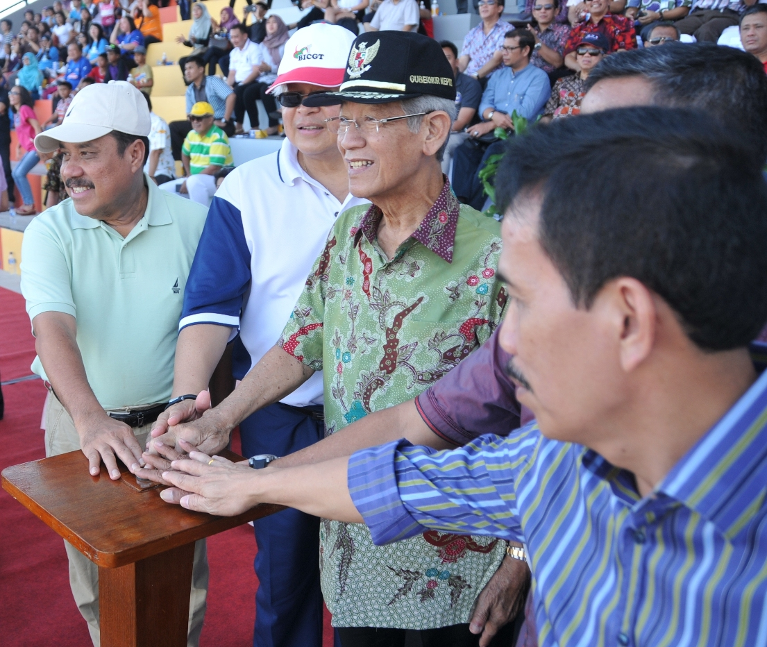 Governor of Riau Island Inagurated Gelora Citramas